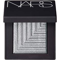 Nars Dual Intensity Eyeshadow Pallet Lysithea Shark Grey ($28) ❤ liked on Polyvore featuring beauty products, makeup, eye makeup, eyeshadow, beauty, eyes, fillers, shiny eyeshadow, nars cosmetics and eyeshadow brushes