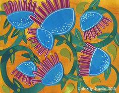 silly flowers 2 by Colorfly Studio, via Flickr