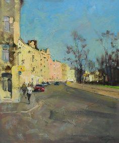 Street in St.-Petersburg / Улица в Петербурге