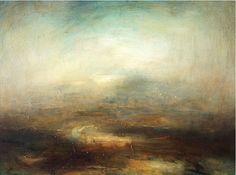 Mark Johnston- 'Turning River' Oil on Canvas 30 x 40 cm