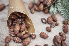 Kanel- och chilikryddade julnötter