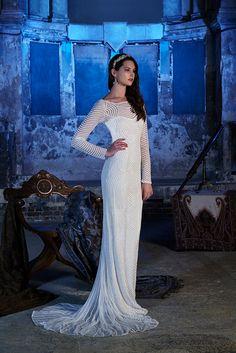 Robe de mariée Lunar disponible chez Plume Paris