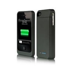 LUXMO Platinum Collection Maxboost Series Power Case for iPhone 4 (Black) Iphone 9, Iphone 4 Cases, Best Iphone, Apple Iphone, Verizon Wireless, Screen Protector, Just In Case, Cell Phone Accessories, Led