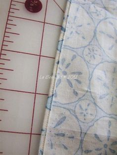 The Kenneth King Hemm--A professional technique for the tiniest hem possible. Especially nice for sheer fabric. (Pin now, read later, compare to other tutorial.)