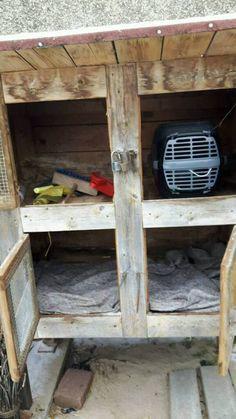 stall k fig f r kaninchen hasen meerschwein 35. Black Bedroom Furniture Sets. Home Design Ideas