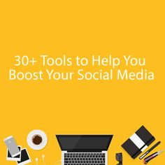 📢🔝 Tools to Help You Boost Your Social Media goo. Blogging, Social Media, Tools, Facebook, Twitter, Social Networks, Social Media Tips, Appliance