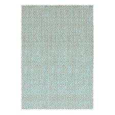Herringbone Jute Slate Blue Rug | Now on SALE