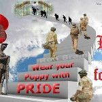 Brace yourselves. The dodgy Remembrance Day fan art is starting... #EDL