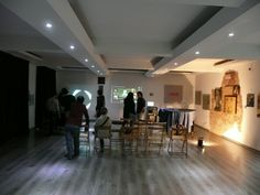 before the opening at Green Box - Torino
