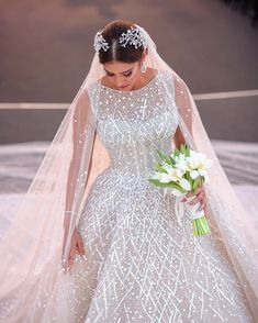 👸🏼 Could this gorgeous dress be the one for you? Leave a comment below!🎀 ⠀ Dress by Planning by ⠀ Princess Style Wedding Dresses, Lebanese Wedding, Lace Dress, Dress Up, Luxe Wedding, Dream Wedding, Designer Wedding Gowns, Beautiful Bride, Gorgeous Dress
