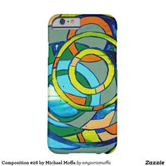 Composition #26 by Michael Moffa Barely There iPhone 6 Case