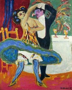 Kirchner - Some people are born as expressionist paintings, you better enjoy it !
