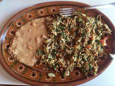 La Cocina de Doña Esthela - Valle de Guadalupe, Baja California, Mexico. Machaca con huevo. DELICIOUS!