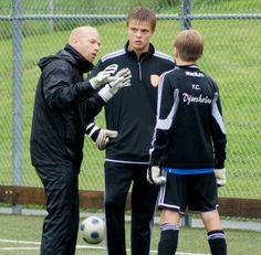 Individuell träning en regnig septemberdag 2012, Goeras Football Education