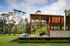 Great Barrier House by Crosson Clarke Carnachan Architects on Great Barrier Island in NZ