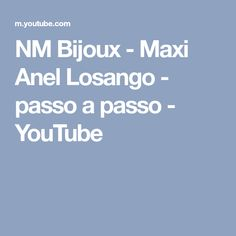 NM Bijoux - Maxi Anel Losango - passo a passo - YouTube