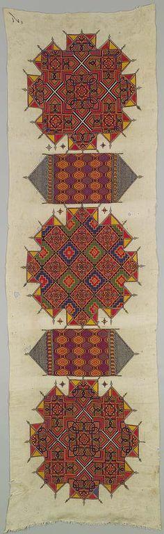 Embroidered panel [Morocco] (1970.272) | Heilbrunn Timeline of Art History | The Metropolitan Museum of Art
