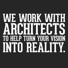 It's important to get everything right the first time that's why we use architects. #DCandR #DependabilityFirst