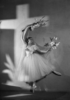 Giselle as performed by Alicia Markova, Ballets Russes de Monte Carlo, 1937