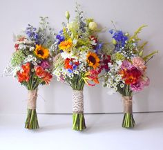 Beautiful wildflower bridesmaids bouquets weddingflowers bridesmaidbouquet we bridesmaidbouquets peoplenetwork modern same sex wedding in old montreal Flower Decorations, Wedding Decorations, Wedding Ideas, Wedding Songs, Wedding Wishes, Friend Wedding, Wedding Planning, Floral Wedding, Wedding Colors
