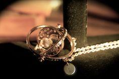 Custom Initialed Charm, Harry Potter Time-Turner