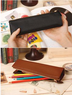 MochiThings.com: Genuine Leather Pen Case