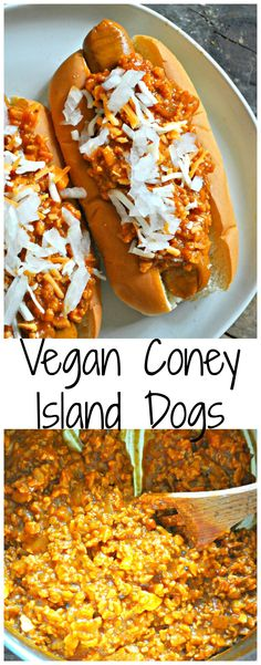 Vegan Coney Island Dogs - Rabbit and Wolves