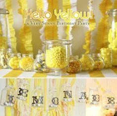 Yellow Birthday Party.