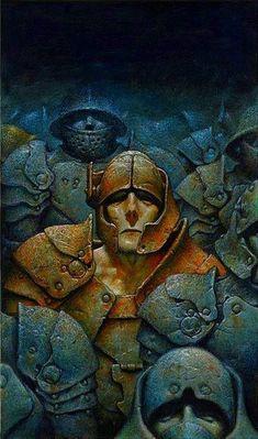 Art of Oscar Chichoni, Argentine . Arte Sci Fi, Sci Fi Art, Character Art, Character Design, Heavy Metal Art, Science Fiction Art, Dark Art, Cover Art, Art Reference