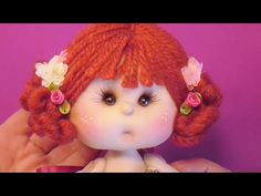 muñeca de comunion ,peinado 4/5,manualilolis, video- 75 - YouTube