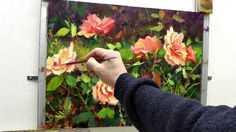 "How-To Oil Painting Video by Professional Artist Bill Inman and Inman Fine Arts - ""Sweet Summer Days"" roses. This is made from the full length 4 hour video t..."
