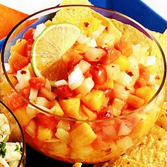 Sweet Onion and Fruit Salsa