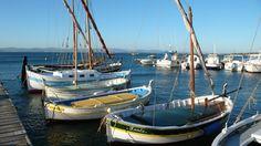 Port de la Madrague à Giens.