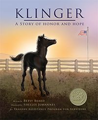 Klinger, A Story of Honor and Hope is a wonderful and helpful book for young children who are experiencing grief over the death of a parent or loved one in the military. The story of Klinger is a journey of loss, grief, and hope...