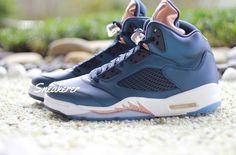 "NEW ARRIVALS: Nike Air Jordan 5 Retro ""Bronze"" is available at kickbackzny.com."