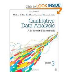 Qualitative Data Analysis: A Methods Sourcebook: Matthew B. Miles, A. Michael Huberman, Johnny Saldaña: 9781452257877: Amazon.com: Books