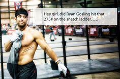 Rich Froning - Crossfit lol here is another one Crossfit Baby, Crossfit Humor, Crossfit Motivation, Gym Humor, Workout Humor, Exercise Humor, Rich Froning, Crossfit Inspiration, Fitness Inspiration
