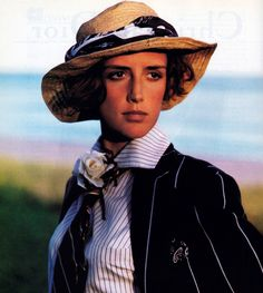 Ralph Lauren, American Vogue, January 1989.