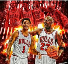 A healthy Derrick Rose is definitely fitting to be the next legend in Chicago. I Love Basketball, Basketball Players, Bulls Basketball, Nba Players, Bulls Wallpaper, Michael Jordan Pictures, Jeffrey Jordan, American Athletes, Basketball