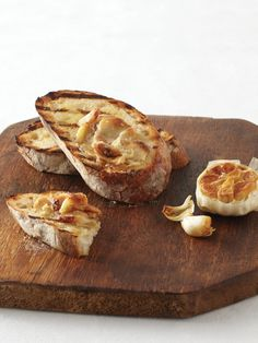 Roasted Garlic Bruschetta Recipe : Food Network Kitchen : Food Network - FoodNetwork.com