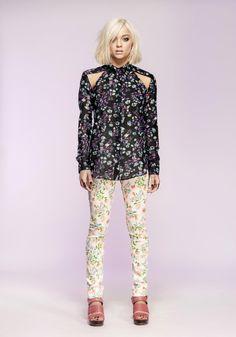 ZEN GARDEN SHIRT - Nookie - Beautiful print by a beautiful Textile Designer... go Han