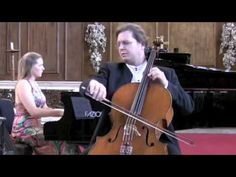 Orfeo Mandozzi Cello Caroline Clipsham Piano Bach Marcello Adagio BWV 974 St. Paul Cathedral London