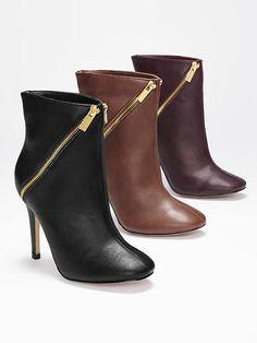 c9ab66ebdf59 Victoria's Secret VS Collection Double-zip Bootie on shopstyle.com Cute  Shoes, Me