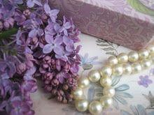 Classics...Lilacs and Pearls.