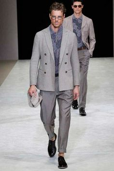 Giorgio Armani Menswear Collection Spring/Summer 2015