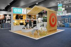 A custom exhibition stand for Target ONset were tasked to build a striking exhibition stand for Target department store. Built from A-grade Hoop Pine plywood and two packed MDF, the stand is easily broken down and palletised to be reused and re-themed for many different expos and gift fairs.