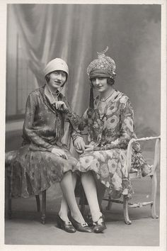 Two French Flappers