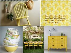 summer yellow interiors - Google Search
