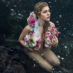 Will you wear flowers? Model:Lauren Colella Photographer @featherrface