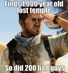 Hahaha, So true -_- #Uncharted
